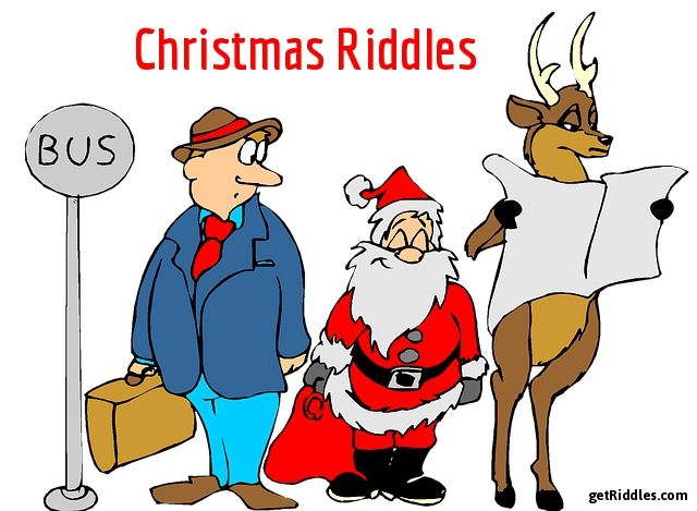 37 Christmas Riddles , Riddles About Christmas